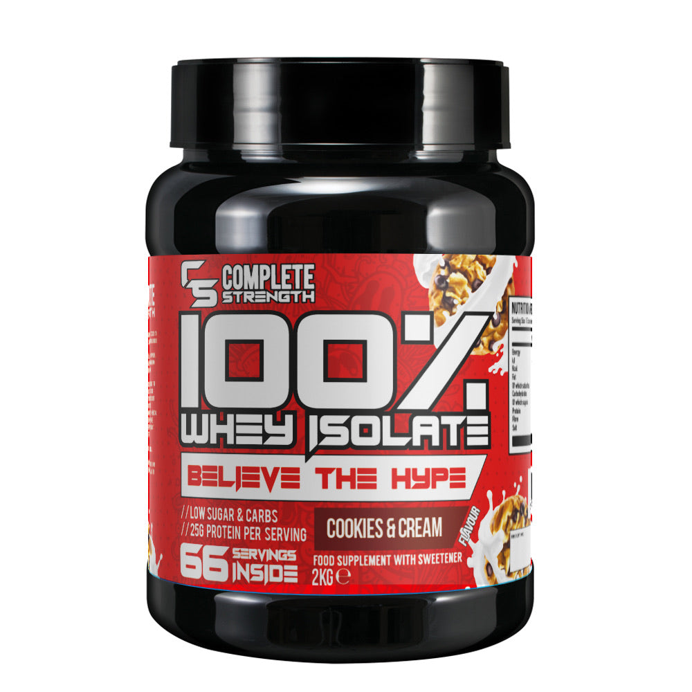 Complete Strength 100% Whey Isolate