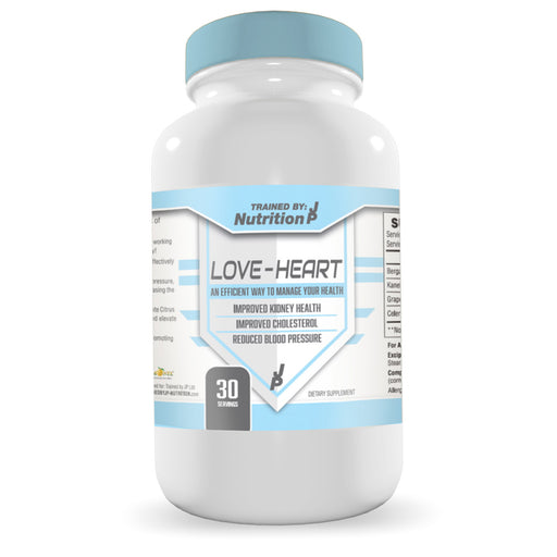 TrainedByJP Nutrition Love Heart