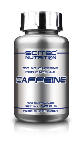 Scitec Caffeine Tablets - 100mg
