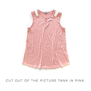 Cut Out of the Picture Tank in Pink