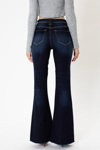 Dare to Flare Button Fly Jeans