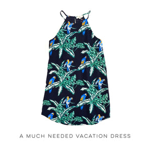 A Much Needed Vacation Dress