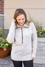 Load image into Gallery viewer, Vintage Wash HalfZip - Grey