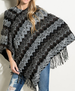 Fringe Poncho final sale