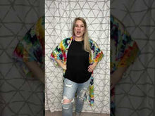 Load and play video in Gallery viewer, Totally Into Tie Dye Kimono