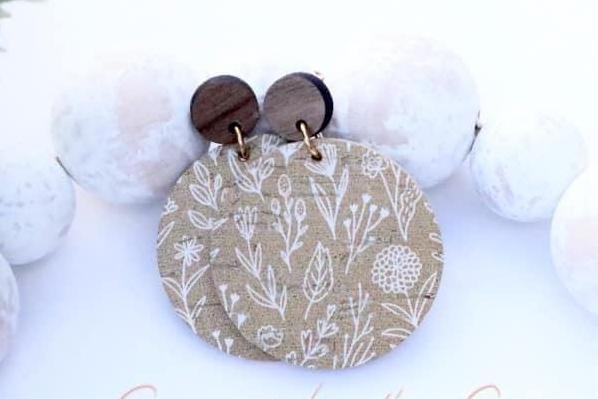 Fall Flower Field Earrings