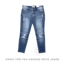Load image into Gallery viewer, Crazy for You KanCan Moto Jeans