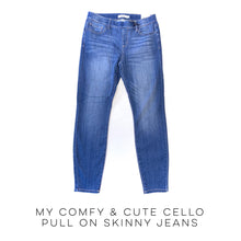 Load image into Gallery viewer, My Comfy & Cute Cello Pull On Skinny Jeans