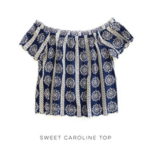 Load image into Gallery viewer, Sweet Caroline Top