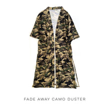 Load image into Gallery viewer, Fade Away Camo Duster
