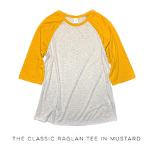 Load image into Gallery viewer, The Classic Raglan Tee in Mustard