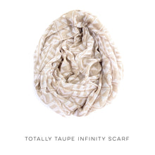 Load image into Gallery viewer, Totally Taupe Infinity Scarf