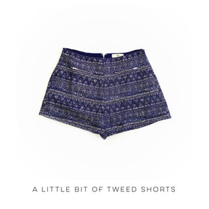 A Little Bit of Tweed Shorts