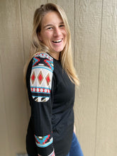 Load image into Gallery viewer, My Fall Aztec Top