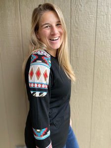 My Fall Aztec Top