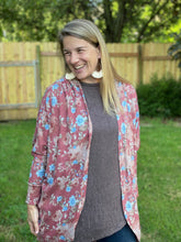 Load image into Gallery viewer, Fall Days Asymmetrial Tunic in Walnut Brown