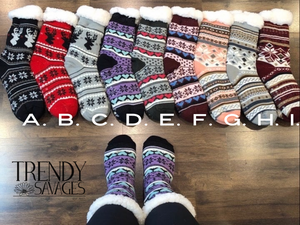 Sherpa socks final sale