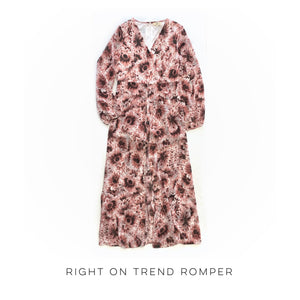 Right on Trend Romper