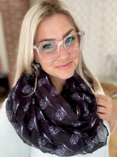 Load image into Gallery viewer, My Owl Infinity Scarf