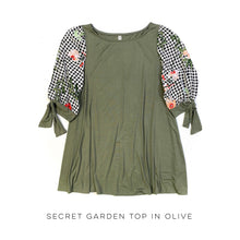 Load image into Gallery viewer, Secret Garden Top in Olive