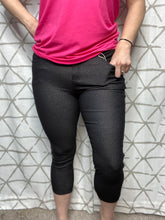 Load image into Gallery viewer, My Perfect Capri Jeggings in Black