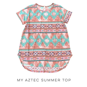 My Aztec Spring Top