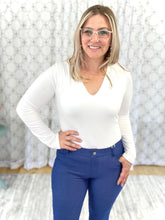 Load image into Gallery viewer, My Perfect Capri Jeggings in Denim Blue