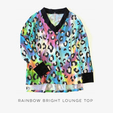 Load image into Gallery viewer, Rainbow Bright Lounge Top