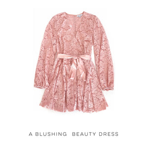 A Blushing Beauty Dress