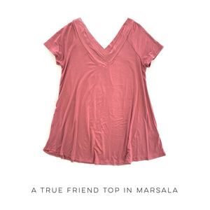 DOORBUSTER A True Friend Top in Marsala