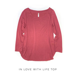 DOORBUSTER In Love With Life Top