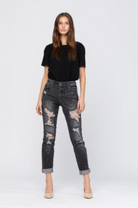 Better Believe It Judy Blue Boyfriend Jeans