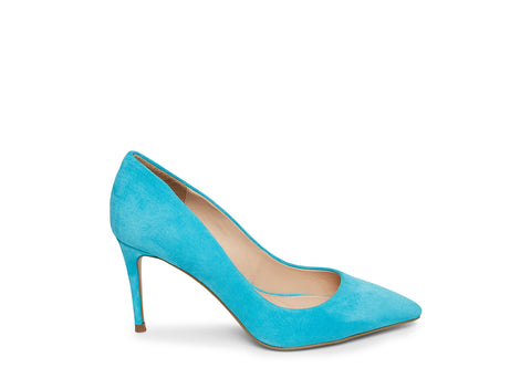 LILLIE TURQUOISE SUEDE