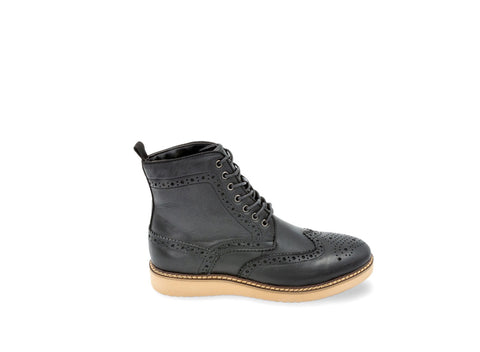 GODDARD BLACK LEATHER