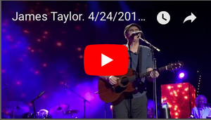 Review of Lexington, KY show with James Taylor & tribute to Prince