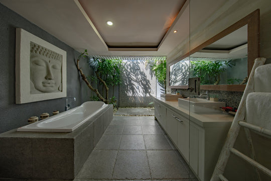 Modern Bathroom Designs: Creating Good Feng Shui in Your Bathroom