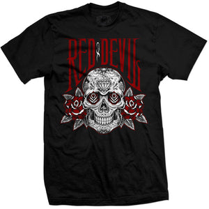 "Camiseta manga corta ""Roses for the Dead"""