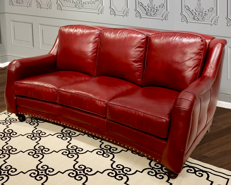 881-03 Reagan Leather Sofa
