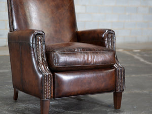 1462-R1 Lawndale Leather Recliner