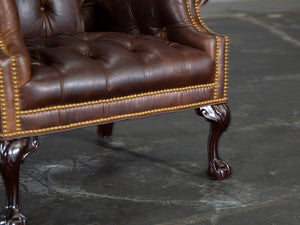 201-01 Cheshire Leather Chair