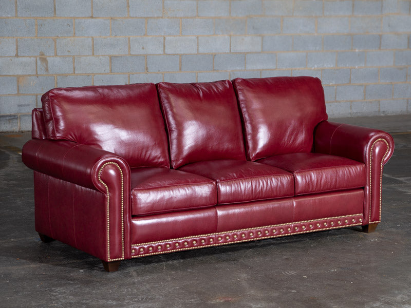 354-03 Harrington Leather Sofa