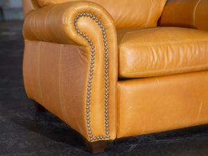 500-R1 Highland Leather Recliner