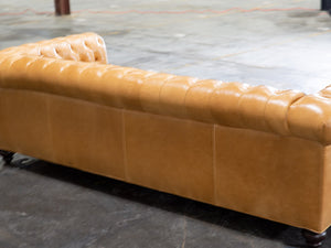 609-03 Franklin Leather Sofa