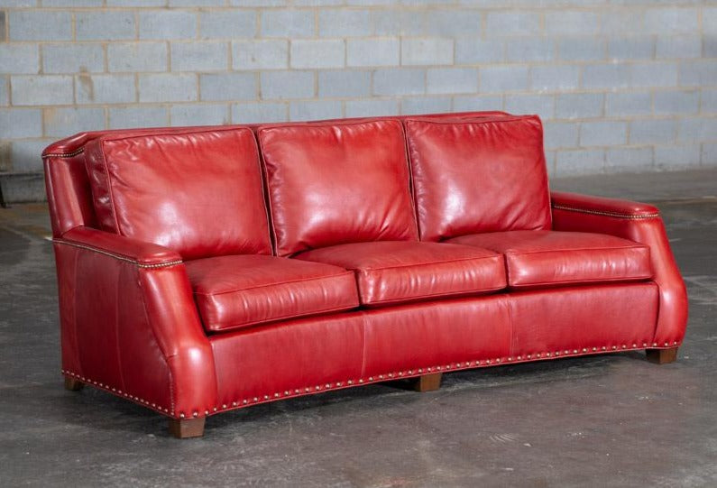 815-03 London Leather Sofa