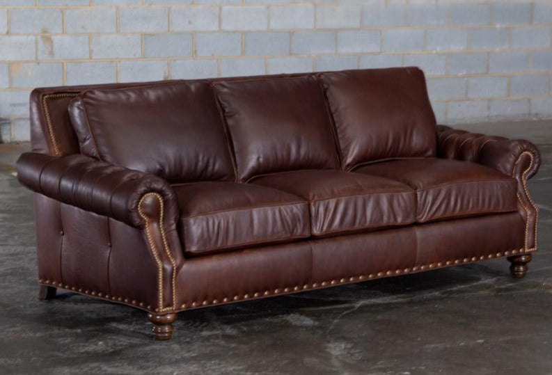823-03 Paris Leather Sofa