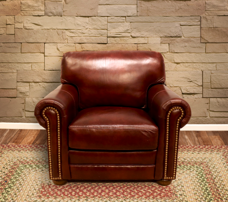 365-01 Deacon Leather Chair