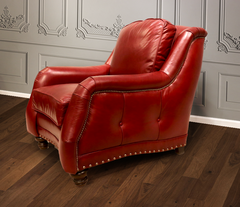 881-01 Reagan Leather Chair