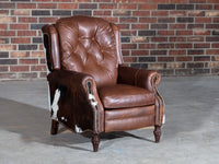 375-R1 Hampton Leather Recliner