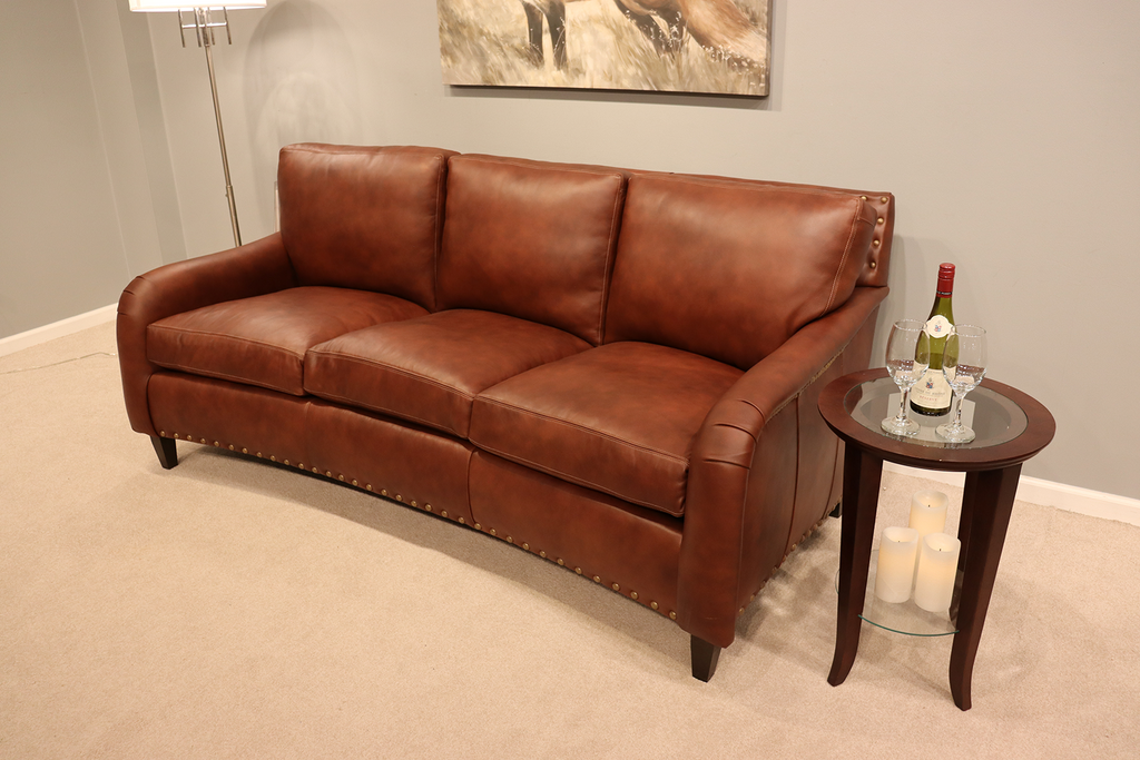 882 Wilson Leather Sofa - Factory Outlet