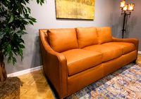 American Classics Leather 179 Monterrey Sofa